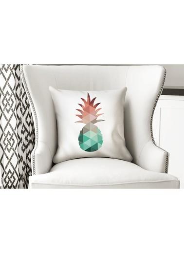 Lyn Home & Decor Geometrik Kaktüs Yastık Kılıfı Renkli